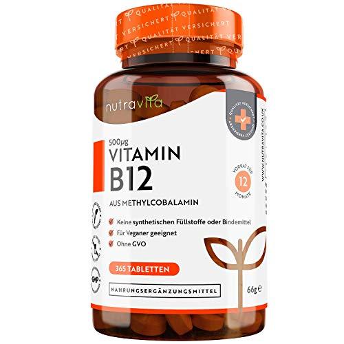 Nutravita -  Vitamin B12 500mcg -