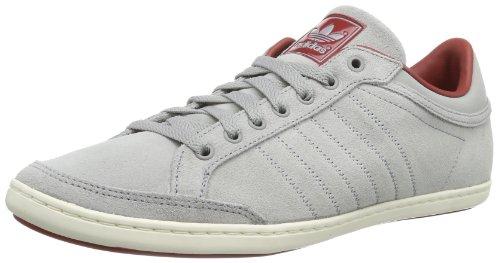 adidas Originals Plimcana Clean Low-1 D65621, Herren Sneaker, Grau (MID GREY S14/ST NOMAD RED S14/LEGACY), EU 40