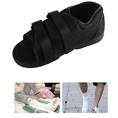 Post-op schoen voor gebroken voet of teen | Medische/chirurgische wandelschoen, verstelbare postoperatieve open teenschoen,S