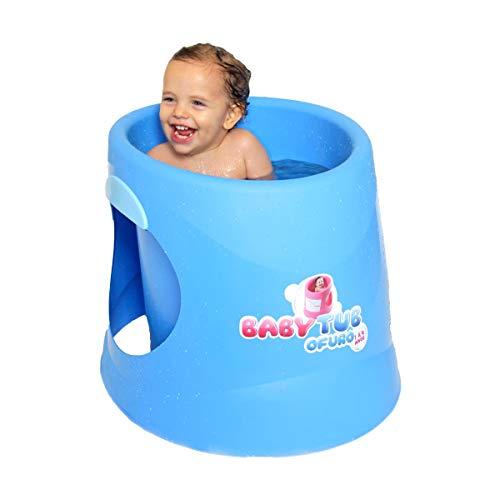 Piscina Banheira Baby Tub Ofurô Crianças 1 A 4 Anos Azul