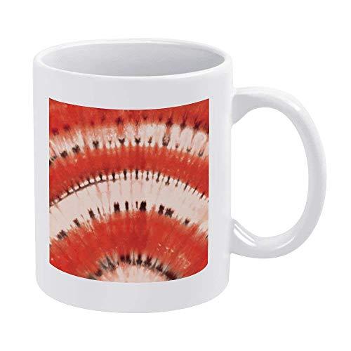 Taza de café blanco de 325 ml, taza de chocolate de cerámica vermeil para mujeres, jefe, amigo, empleado o cónyuge
