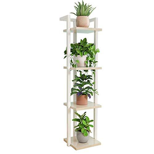 YLongFEI Plant Stand Charming Flower Plant Stand Adopts Pot Roestvrij Verschillende Montage Methode Opslag Ruimte Verschillende Nodig Poeder