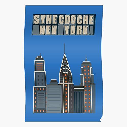 Synecdoche New Charlie Kaufman Philip Natbern Bernat Seymour York City Morton Anomalisa Samantha Hoffman Das eindrucksvollste und stilvollste Poster für Innendekoration, das derzeit erhältlich ist