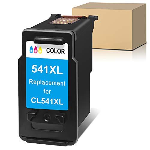 Sunnieink - Cartucho de tinta remanufacturado para Canon 541 541XL PG 541 XL compatible con Canon Pixma TS5150 MG3550 MG3650 MG3200 MG3500 TS5151 MG2250 MX535 MX475 MG4250 GM2050. MG3250 (1 color).