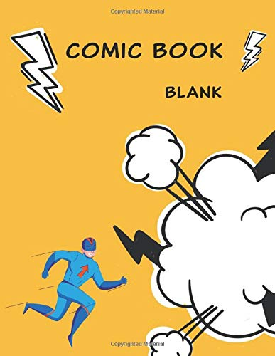 Blank Comic Book: Create your own comic today (120 Pages, Blank, 8.5 x 11)