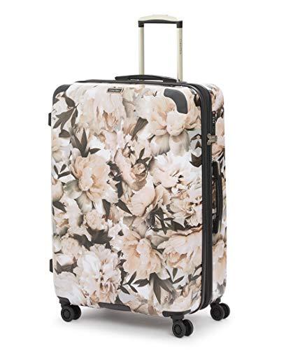 Calvin Klein Studio Terrace Hardside Spinner-Koffer mit TSA-Schloss, Floral/Weiß (Weiß) - LH418TE8