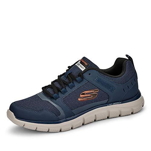Skechers Track Knockhill heren sneakers - Blauw - Maat 40 EU