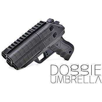 Doggie Umbrella ドギーアンブレラ マルチショット 3D タクティカル ランチャー ブラック 3Dプリント素材