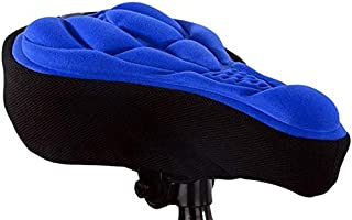 Bicycle Saddle 3D Bike Seat Cover Cycling Silicone Seat Cushion Cycling Saddle for Bicycle Bike Accessories