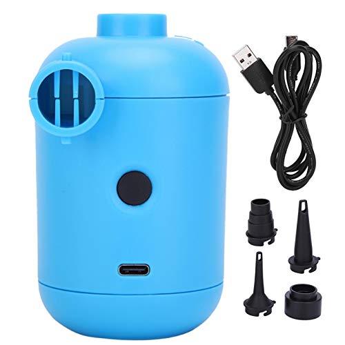 Wosune Bomba de Aire para inflables de Piscina, Bomba Inflable eléctrica, Inflador de Cama portátil Bomba eléctrica para inflables Bomba de Aire eléctrica