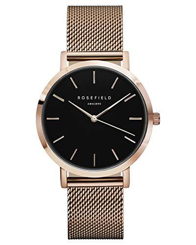 Rosefield Unisex horloge digitaal met roestvrijstalen armband - MBR-M45