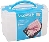 Snapware 1098836 6' X 9' Plastic Snap & Stack 3 Layer Craft Organizer