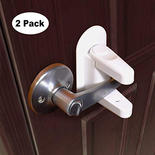 6 Pcs Baby Proof Locks No Screws Child Locks with 3M Adhesive Stick On Cabinets Door Vicloon Child Safety Cupboard Locks Children Proof Latches for Kitchen Refrigerator Closet Pink Drawer