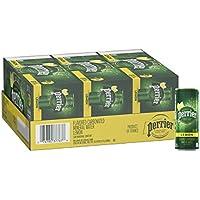30-Pack Perrier Lemon Flavored Carbonated Mineral Water