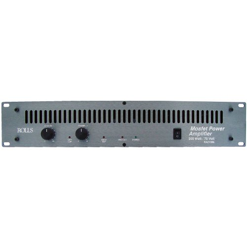 Find Cheap Rolls RA2100b 2-Channel 100 Watts/RMS Channel @ 4 Ohms Power Amplifier