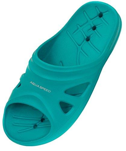 Aqua-Speed Kinder Florida Pool Schuhe ,hellblau, 28