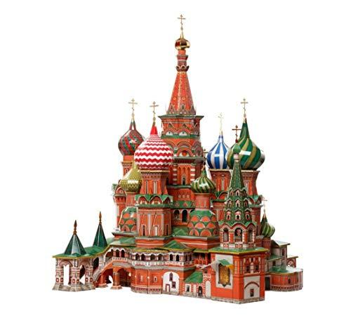 CLEVER PAPER- Puzzles 3D Catedral de San Basilio, Rusia (14195)