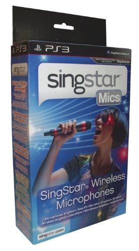 PlayStation 2+3 - Wireless SingStar Mikrophon (2 Stück) [Importado de Alemania]