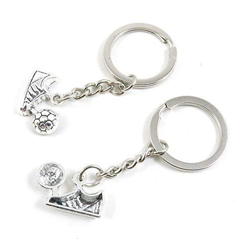 Antieke Zilveren Toon Sleutelhanger Sleutelhanger Keytag Q4WT3H Voetbalschoenen Voetbal Sleutelhanger Ring Tag Sieraden Maken Bedels Antiek Zilver