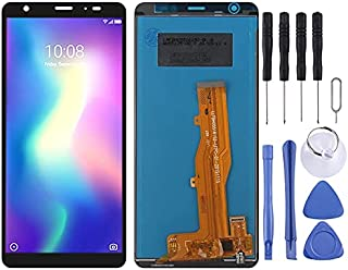 Cell Phone Replacement Accessories LCD-skärm och digitizer full montering för ZTE Blade A5 2019 Phone Spare Part