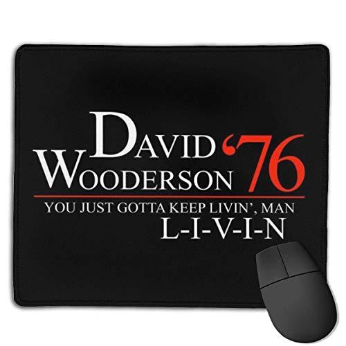 David Wooderson 76 Livin Dazed Confundidos Diseños Personalizados Antideslizante Base de Goma Gaming Mouse Pads para, PC, C.