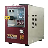 SUNKKO 737DH Battery Spot Welder, Pulse Welding Machine for 18650 14500 Lithium Batteries Battery Pack Work With Nickel Strips 0.35mm Intelligent Time Delay Function