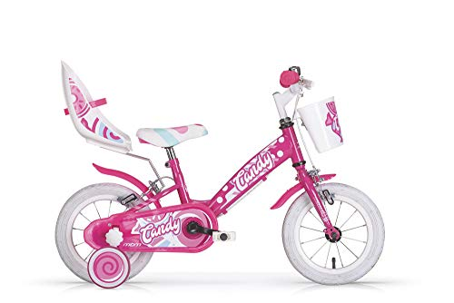 MBM Candy 20' Bimba Acc 1 V, Bici Bambina, Fucsia A77, XX