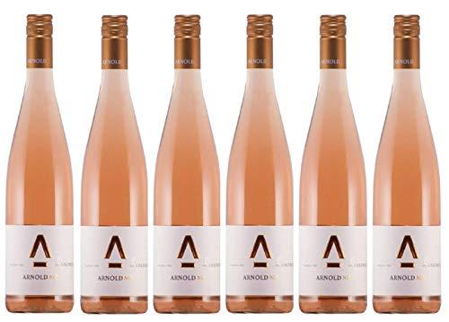 Arnold Wein Spätburgunder Rosé Wein 2018 Nr. 28 (6 Flaschen á 0,75 Liter)