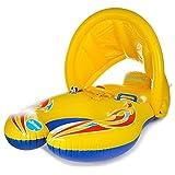 Ruluti Tragbare Baby Pool Float Hals Ring Sonnenschutz Tragbare Mutter Kinder Schwimmen Kreis Aufblasbare Sicherheit Schwimmen Ring Float Sitz