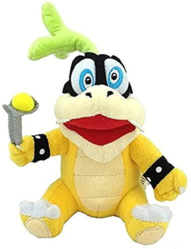 Nucifer Super Mario Bros Iggy Koopa Plush Doll Stuffed Animals Figure Soft Anime Collection Toy 8.7''(1 Pack)