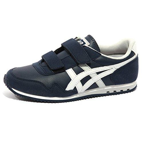 ONITSUKA TIGER B1285 Sneaker Bimbo Scarpe blu Shoes Kids [32.5]
