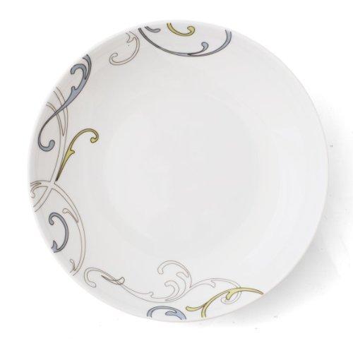 Assiette calotte 22 cm Myosotis en porcelaine