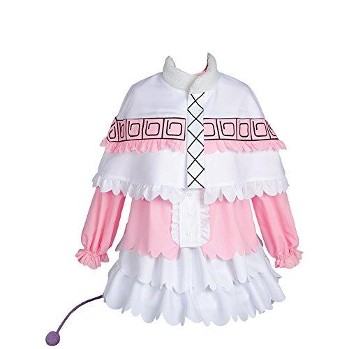Jeylu Miss Kobayashi-san Dragn Maid Kanna Kamui Kimono Toru Tohru Maid Cosplay Disfraz Talla EU Rosa Vestido Kanna Kamui XXL