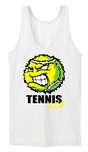 Certified Freak Tennis Ace Tanktop Girls White S