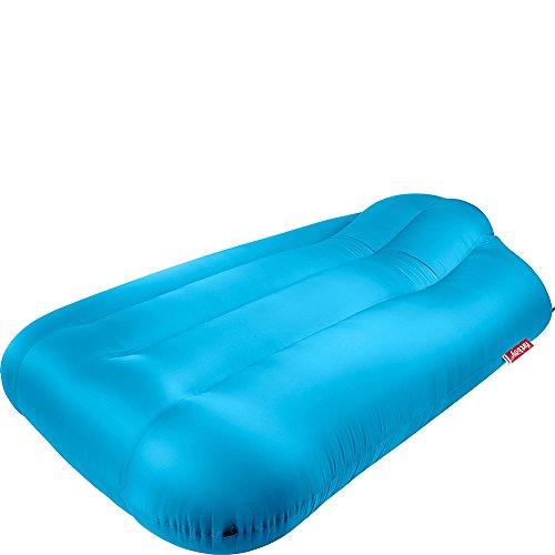 Fatboy Lamzac XXXL, enorm draagbaar opblaasbaar luchtbed met draagtas - aqua blauw
