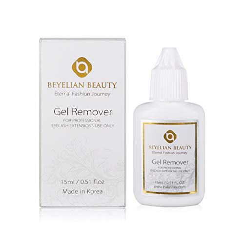 BEYELIAN Gel Remover 15ml Clear Professional Eyelash Extensions Use Only Remove All Types Strong Powerful Lash Glue Full Individual Removal Alcohol-free Dissolution
