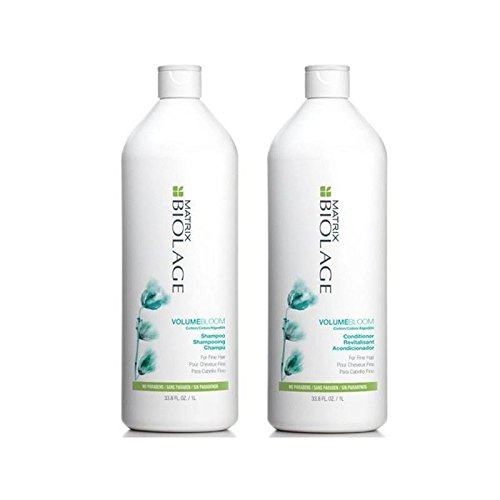 Matrice Biolage Volumebloom Shampooing Et Revitalisant (1000Ml)
