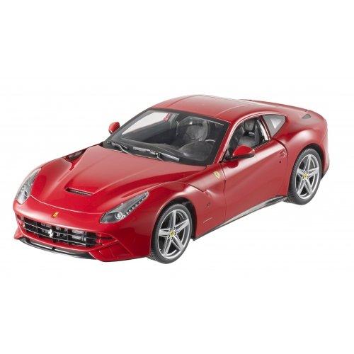 Hot Wheels Ferrari F12 Berlinetta 1:18 rot Modellauto