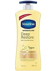 Vaseline Intensive Care Deep Restore Body Lotion, 600 ml