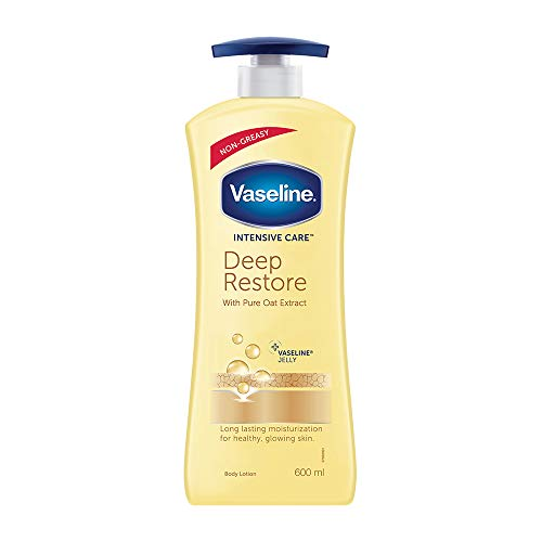 Vaseline Intensive Care Deep Restore Body Lotion, 600 ml