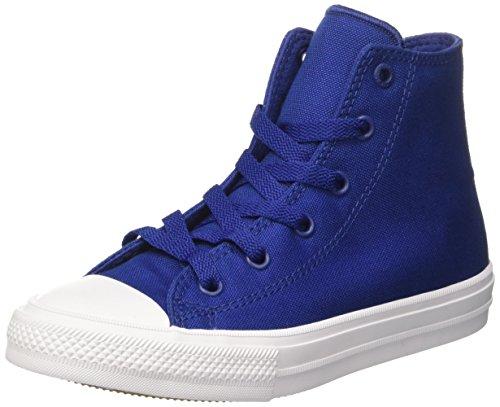 Converse Ctas Ii Hi, Sneakers Mixte Enfant, Bleu (Sodalite Blue/White/Navy), 35 EU