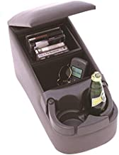 RAMPAGE PRODUCTS 39223 Universal Truck Bench Seat Console, Charcoal