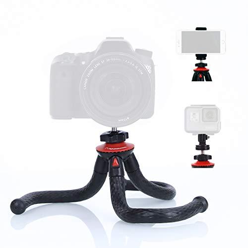 ALPHAINSTRUMENTS Stativ für Smartphone & Kamera - Flexibler Tripod Ständer mit Halterung für das Handy - kompatibel mit iPhone, Samsung & GoPro