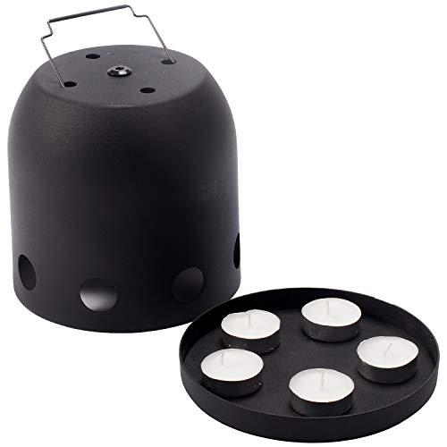Nash Bank Life Bivvy Heater T1215 Zeltheizung Zeltheizer Heizung Teelicht Kerzen