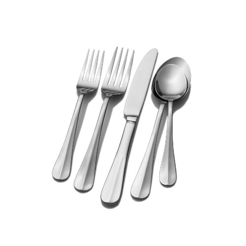 Pfaltzgraff Simplicity 20-Piece Stainless Steel Flatware Set, Service for 4