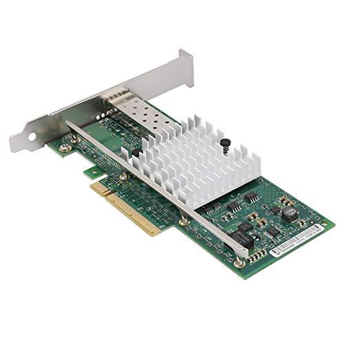 Bicaquu PCI-E-LEDs des Desktop-Adapters Anzeigen Desktop-Netzwerkkarte 10-Gbit/s-Datenserver für die Überwachung von Office-Internetcafés