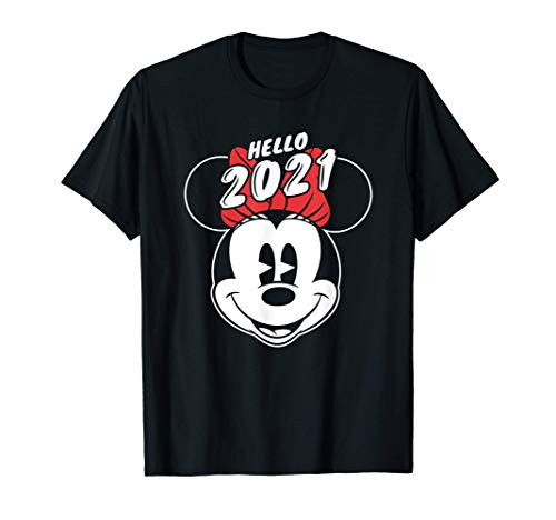 Disney Minnie Mouse Hello 2021 T-Shirt