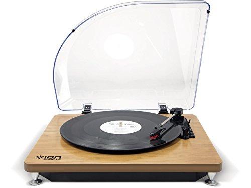 ION Audio iT51 Pure LP platenspeler (USB) zwart hout