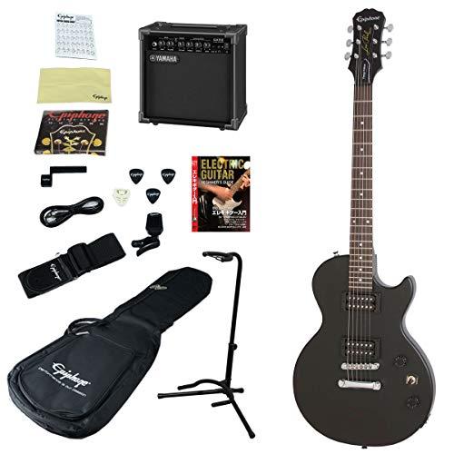 Epiphone/Les Paul Special VE VWEB (Vintage Worn Ebony) 【YAMAHAアンプつきエレキギター入門15点セット】 エピフォン エレキギター レスポール 入門 初心者
