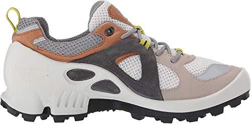 Ecco Damen BIOMC-TRAILW Sneaker, Mehrfarbig (Gravel/Volluto/White 51832), 39 EU